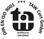 DIN 9001 zertifiert