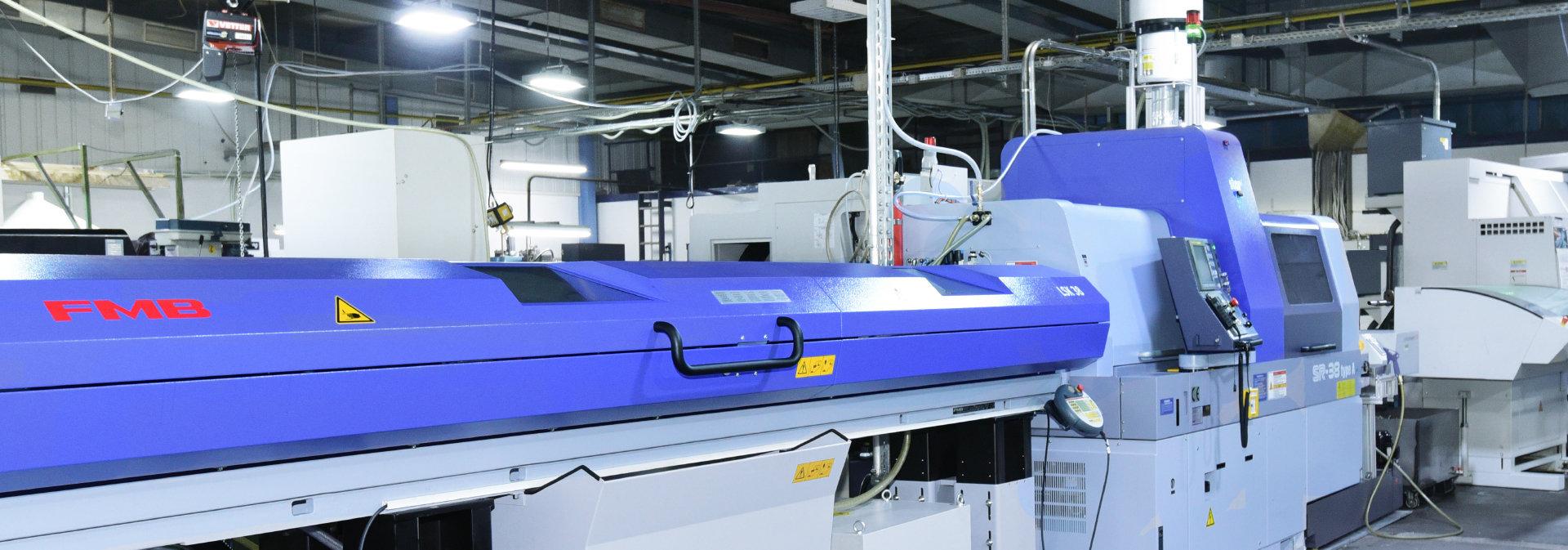 Moderner CNC Maschinenpark